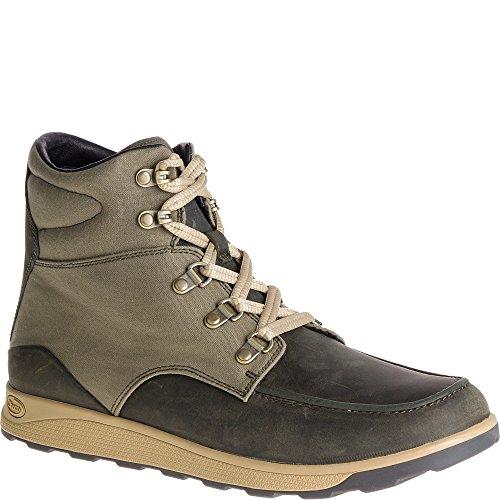 Chaco Men's Teton Hiking Boot, Olive Night, 8 Medium US