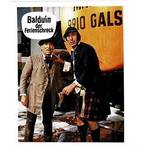 Balduin der Ferienschreck - Louis De Funes - 12 Aushangfotos - 24x30cm (371)