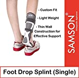Samson Orthotics Light Weight Thin Wall Construction Foot Drop Splint for Effective Support