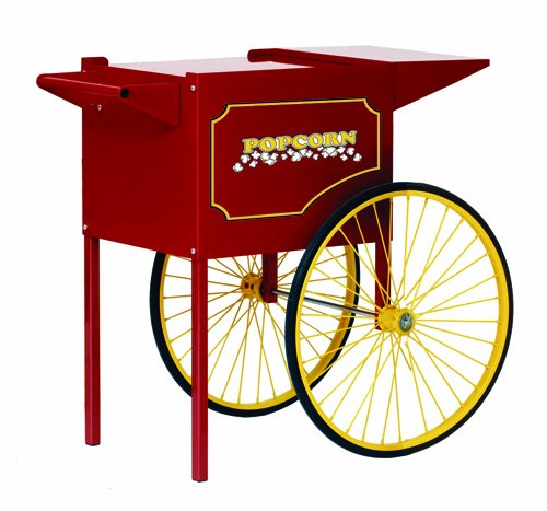 Best Review Of Paragon Standard Pop Cart for Popcorn Machine, Small/4-Ounce
