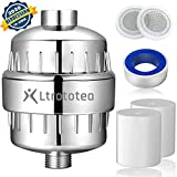 15 Stage Shower Filter Hard Water Filter to Remove Chlorine and Fluoride Universal High Output...