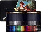 JSY Lápices de Colores El Color de Agua Set de lápiz, lápices de Colores de lápices de Dibujo Arte Profesional Set, lápices for Colorear y lápices del Bosquejo fijó con el Dibujo de la Herramienta en