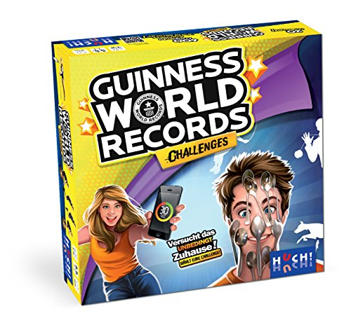 HUCH! 880451 Guinness World Records Challenges, bunt