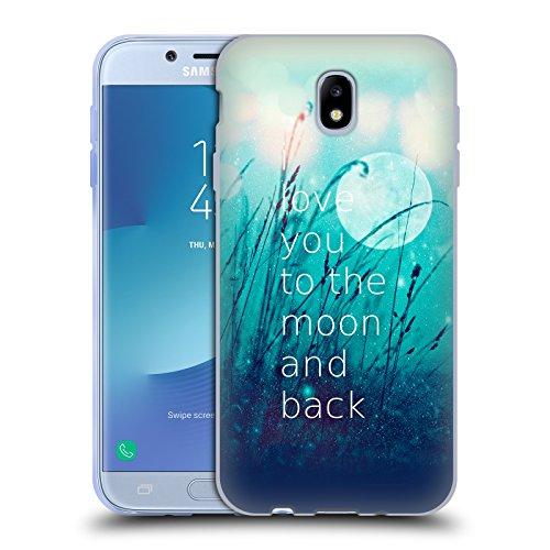Head Case Designs Oficial Monika Strigel Menta Cita de Amor Carcasa de Gel de Silicona Compatible con Samsung Galaxy J7 2017 / Pro