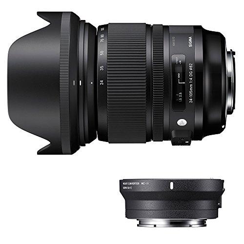 Sigma 635954_89E965 - Kit 24-105 mm F/4 Art EOS + MC-11, Color Negro