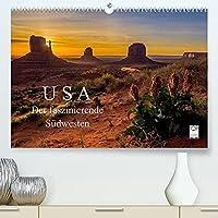 USA Der faszinierende Suedwesten (Premium, hochwertiger DIN A2 Wandkalender 2022, Kunstdruck in Hochglanz): Natur und Staedte, die Highlights des Suedwestens der USA (Monatskalender, 14 Seiten )