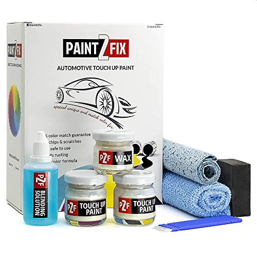 Touch Up Paint for Mercedes - 9650 Arctic White | Calcitweiss | Zirrusweiss | Paint Scratch Repair Kit - Bronze Pack