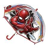 Cerdá 2400000409 Paraguas, Rojo (Rojo 001), One Size (Tamaño del Fabricante:Única) para Niños
