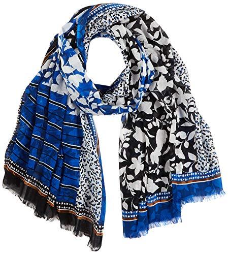 Marc O'Polo Damen 819502343 Schal, Blau (Multi/ D37), OSO