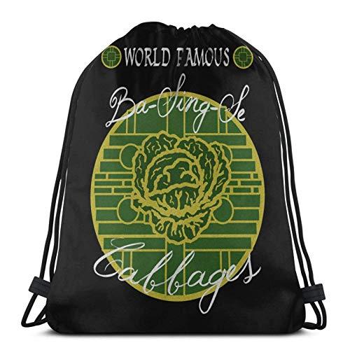Ba Sing Se Cges Kordelzug Rucksack Gym Sack Pack Solid Cinch Pack Sinch Sack Sport String Bag Mit Pocket Beach Bag