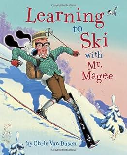 یادگیری اسکی با آقای ماژ