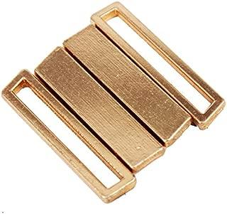 10set Gold Tone Metal Tape Closure Closure Waist Extender Hooks & Eyes Clasps Sewing Garment Clasps Hooks for Bra Swimsuit NK280