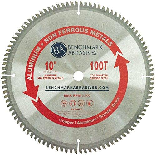 "10"" x 5/8"" 100 Teeth TCT Saw Blade for Aluminum & Non-Ferrous Metals"