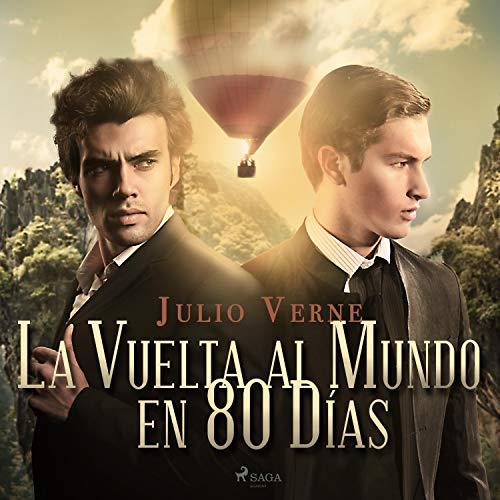 La Vuelta al Mundo en 80 Días audiobook cover art