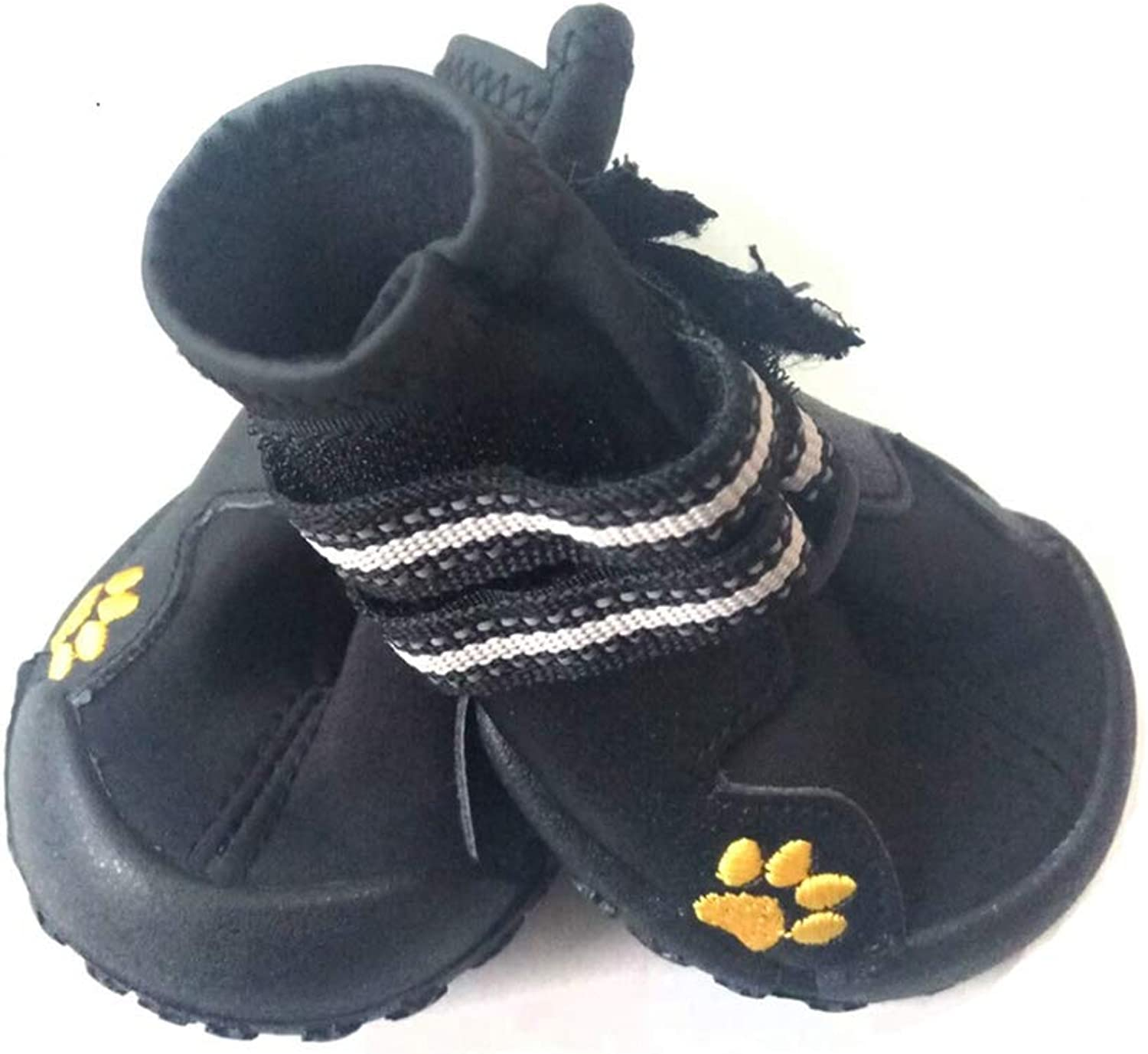 NOMIMAS Dog shoes Waterproof Anti Skid Rubber Sole Outdoor Activity Fashion Portable Pet Dog Running shoes