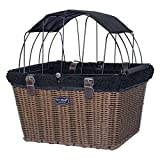 TRAVELIN K9 2019 Pet-Pilot Wicker MAX – Dog Bicycle Basket Bike Carrier-...