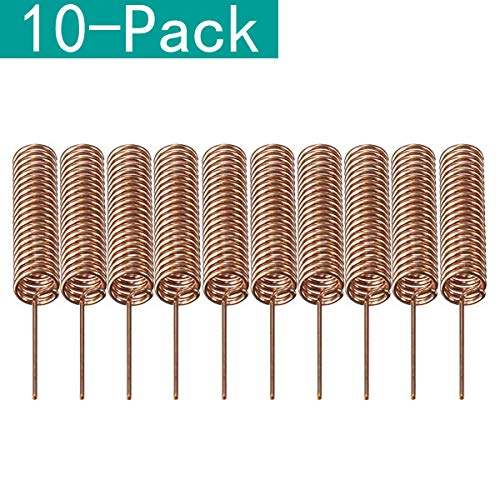 Youmile 10-Pack 433MHz Antenne Helical Spiral Spring Fernbedienung für Arduino Raspberry 5mm