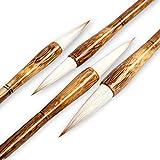 Juego de pinceles para caligrafía china de acuarela para caligrafía profesional Kanji japonés...