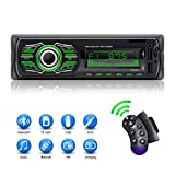 X-REAKO Autoradio Bluetooth Support Lecteur MP3 Appels Mains libres Radio FM Support Contrôle à distance du volant Charge rapide