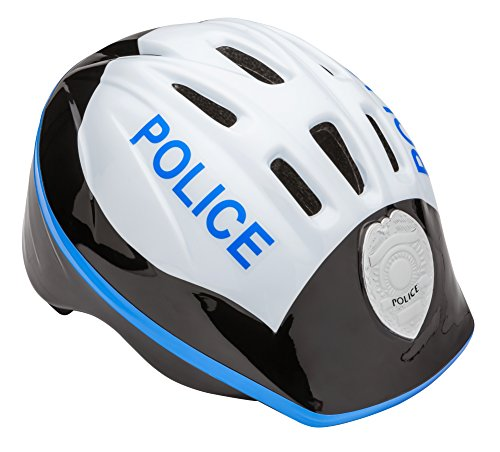 Schwinn Kids Bike Helmet with 3D Character Features, Infant and Toddler Sizes, Toddler, Police