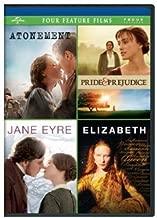 Atonement / Pride & Prejudice / Jane Eyre / Elizabeth Four Feature Films