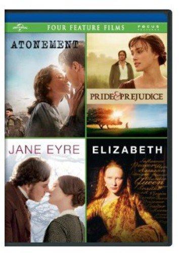 PRIDE&PRED/ATONE/JANE EYRE/ELIZ DVD