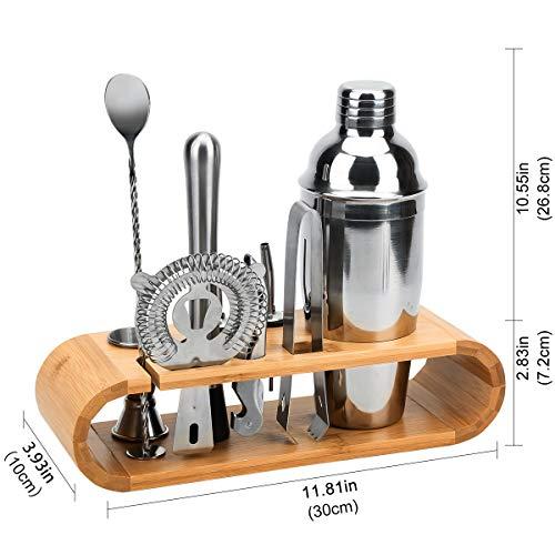 Hochwertiges Cocktailmixer Set, 10 Teilig - 11