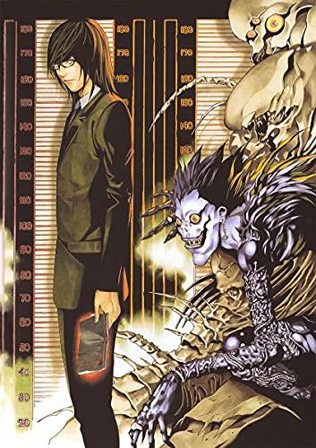 hengyuanxiang Anime Japonés Death Note Papel Revestido Carteles Blancos Café Papel Tapiz Creativo Hogar Bar Decoración Interior 53 Estilo T874 50X70Cm