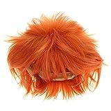 lunanana Haikyuu!! Peluca Hinata Shoyo resistente al calor, peluca de fibra para disfraz de Halloween