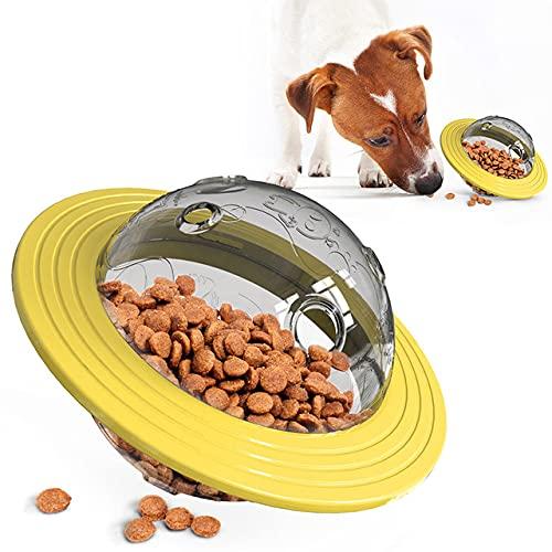 Plástico ABS cápsula Espacial comedero para Perros y Mascotas Cuenco de Comida Vaso Inclinado Cuencos de alimentación Lenta Suministros para Cachorros