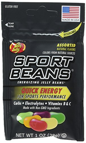 Jelly Belly Assorted Sport Beans (Berry, Fruit Punch, Green Apple, Juicy Pear, Lemon Lime, Orange) - 6 pack