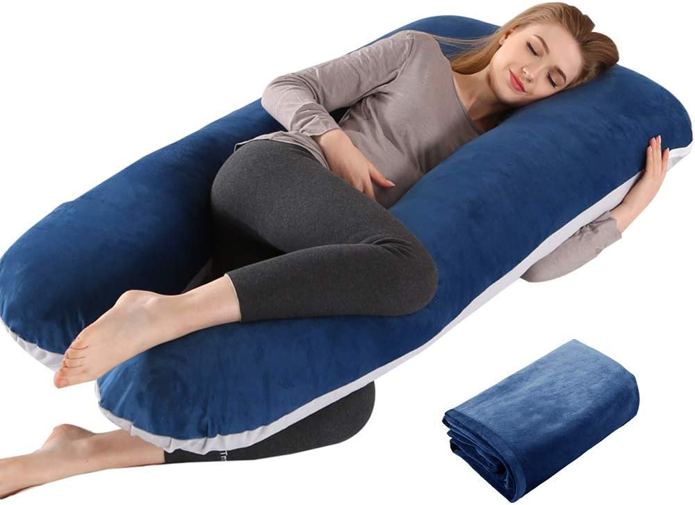 Challenge the lowest price of Japan ☆ Max 54% OFF Wndy's Dream Pregnancy Pillow Maternit U-Shape Body Full