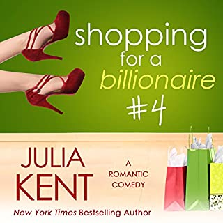 Shopping for a Billionaire 4 audiobook cover art