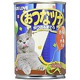 おつなツナ キャットフード ささみ&小魚入り 400g×12缶 (ケース販売)