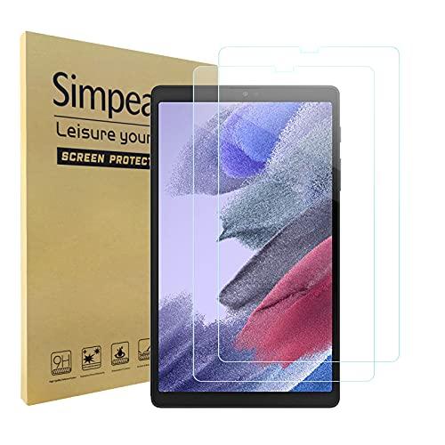 Simpeak 2 Pack Pellicola Protettiva Compatibile con Samsung Galaxy Tab A7 Lite 2021 8,7', Vetro Temperato Protezioni Schermo HD Compatibile con Galaxy Tab A7 Lite SM-T220/T225 [Anti-graffio]