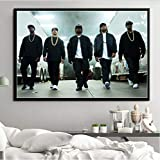 Poster Drucke NWA Hip Hop Musik Rap Sterne Eiswürfel Dr.