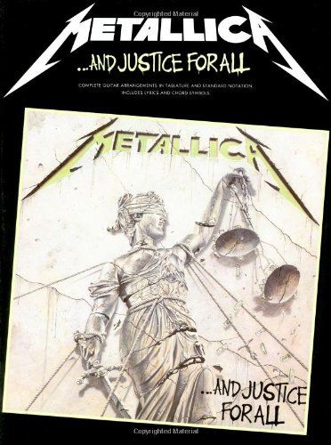 Metallica And Justice For All Tab (Album): Songbook, Grifftabelle für Gitarre