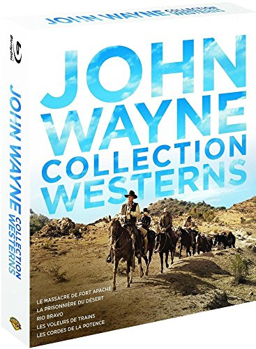 Coffret john wayne collection westerns [Blu-ray] [FR Import]