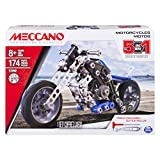 Meccano 5 in 1 Motorcycles Construction Set 17202 - 6036044