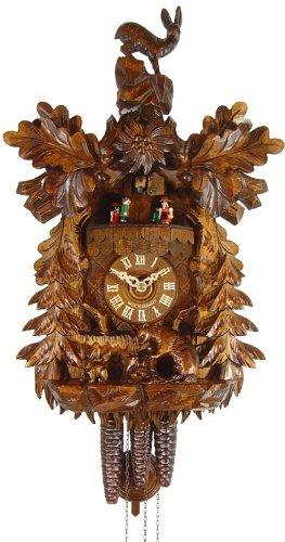 August Schwer Reloj cucú Cabra de Monte, tejón, Conejo
