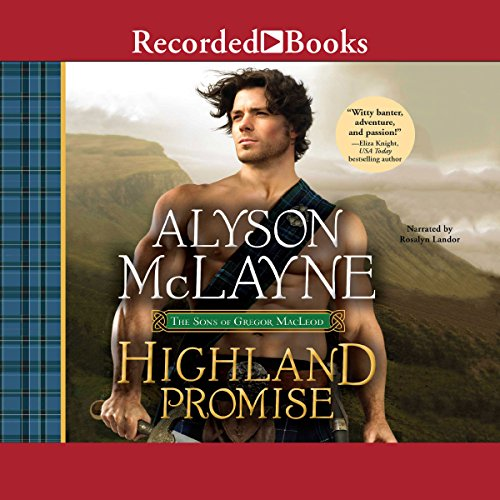 Highland Promise audiobook cover art