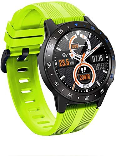 JIAJBG Reloj deportivo inteligente de moda, rastreador de actividad, pulsera inteligente con contador de calorías, reloj inteligente, adecuado para hombres y mujeres