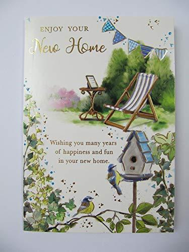 WONDERFUL COLOURFUL genieten van uw nieuwe huis nieuwe huis groeten kaart