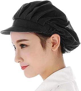 YUENA CARE Mesh Chef Hat Catering Hair Net Workshop Net Cap