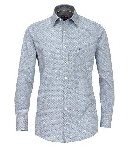 CASAMODA Herren Hemd mit modischem Druck Comfort Fit