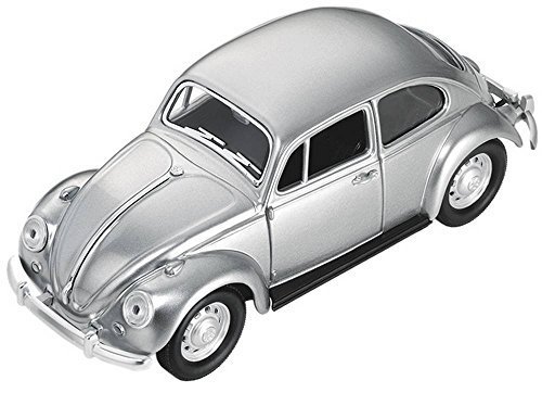 TROIKA 1967 VW KÄFER — GAP24/MA (KÄFER, 1967, Maßstab 1:24) – Briefbeschwerer – Magnet – 5 Büroklammern – bewegliche Türen – matt – Official licensed product by Volkswagen