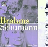 Brahms/Schumann: Viola Sonatas