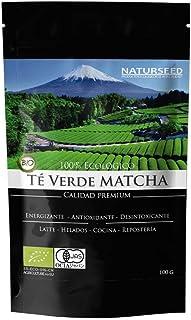comprar comparacion Naturseed Té Matcha Organico Premium en Polvo, 100gr, Bio Ecológico Japones, Para Beber, Latte, Cocinar, Postres, Reposter...