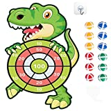 """HONGID Dinosaur Toys for 3-8 Year Olds Boys,30"""" Dinosuar Dartboard Games Boys Gifts for Age 4-10 Toddler Outdoors Toys for Kids Gifts for 3-7 Year Old Boys Games Toys Gifts"""