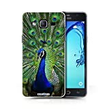 Hülle Für Samsung Galaxy On5/G550 Wilde Tiere Pfau Design